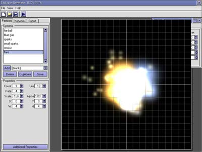 ExGen - Create animated particle textures for use in your games